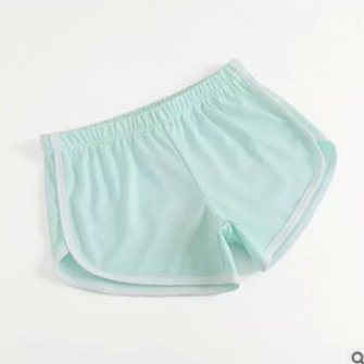 Casual High Waist Pure Color Sport ..