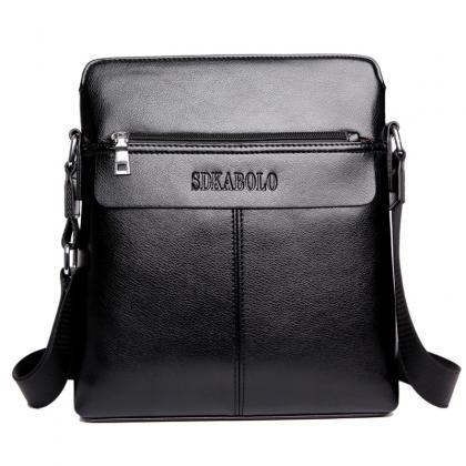 Vertical Type Men's Shoulder Bag