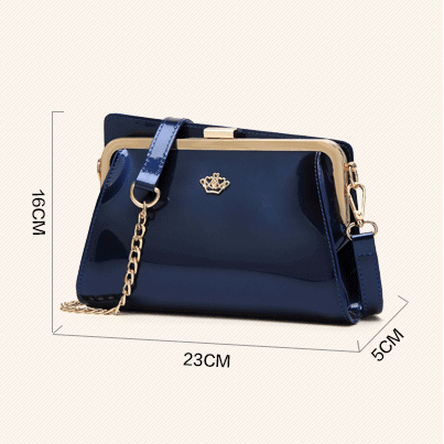 Elegant PU Leather Women Crossbody ..