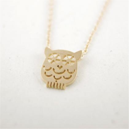 Owl Exquisite Collarbone Necklace