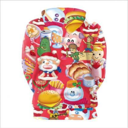 Snowman Cartoon Print Women Colorfu..