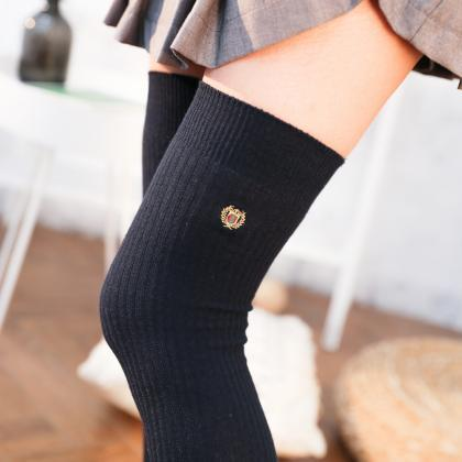 Over-the-knee Heap Socks-4-25-57
