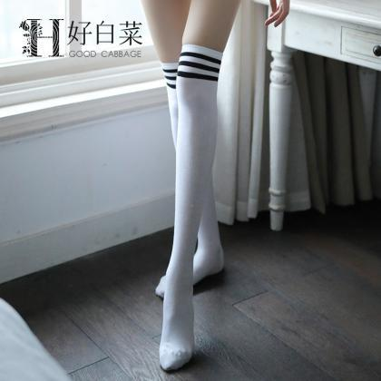 Over-the-knee Heap Socks-4-25-112