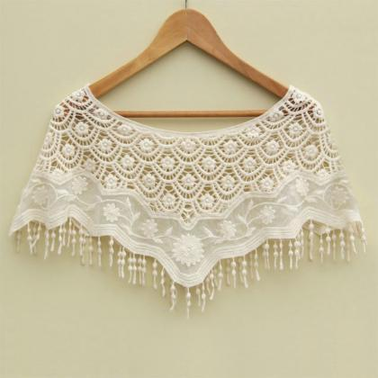 Sexy Women Mesh Hollow Crochet Lace..