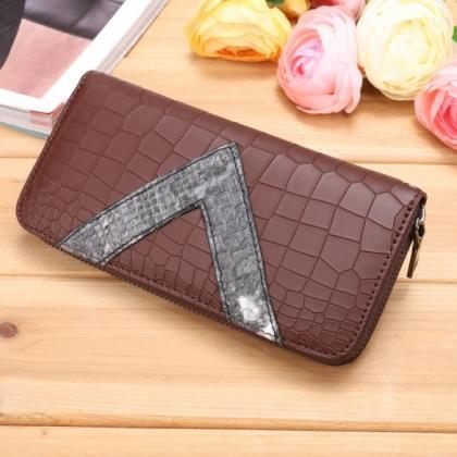 New Women Synthetic Leather Wallet ..