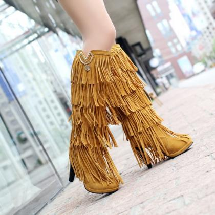 High Quality Multi-Layered Tassels ..