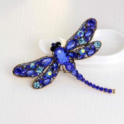Big Dragonfly Chain Scarves Buckle ..