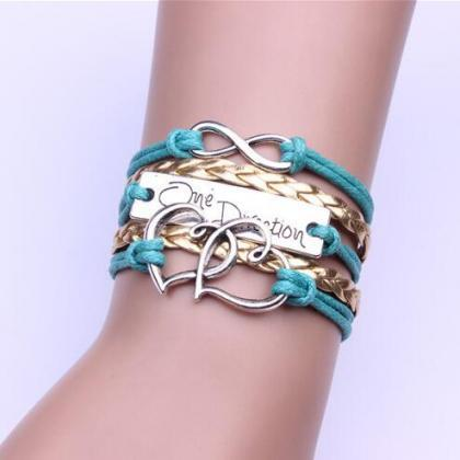 Romantic Double Heart Multilayer Wo..
