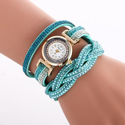Double Color Twist Around Bracelet ..