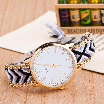 Wool Delicate DIY Craft Watch