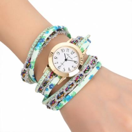Women's Multi-Strap Bracelet Watch ..