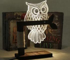 New Home 3D Owl Shap..