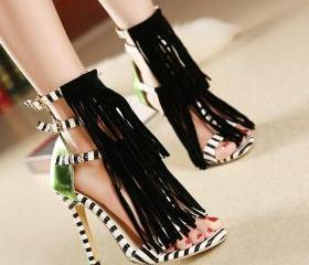 Triple Ankle Strap S..