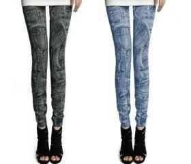 Women Fashion Jeggin..
