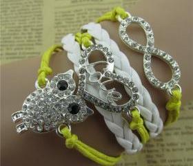 Fashion Owl Hearts L..