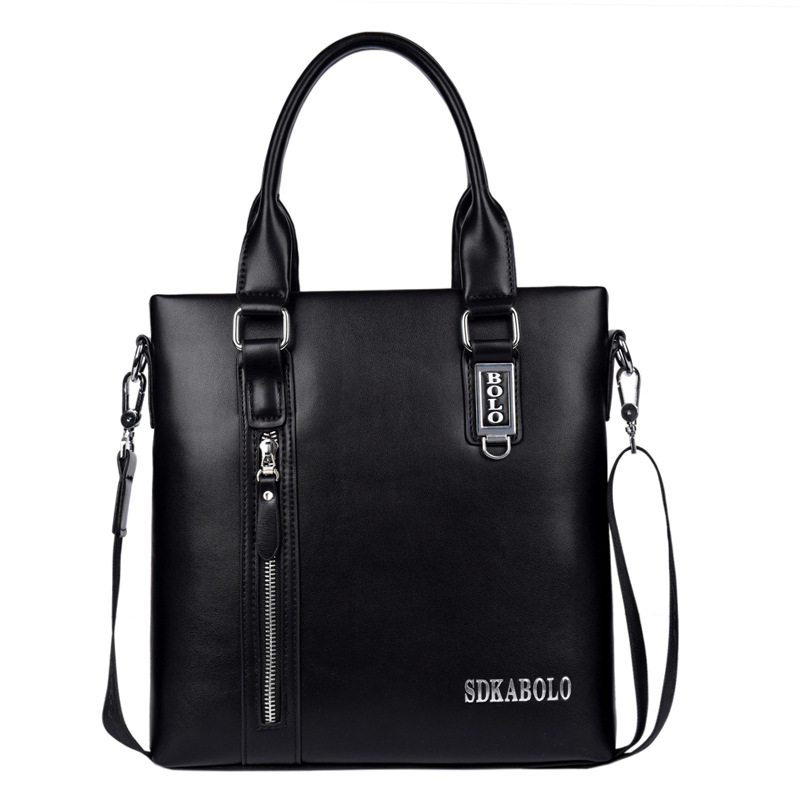 Vertical Type Men's Handbag