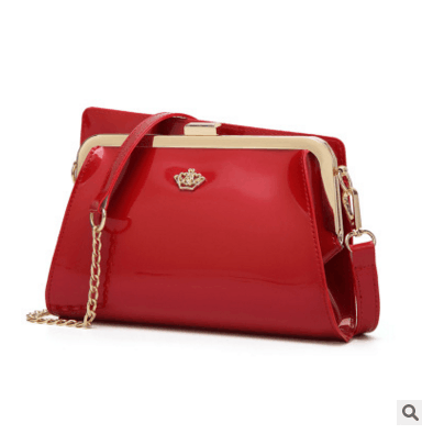Elegant PU Leather Women Crossbody Bag
