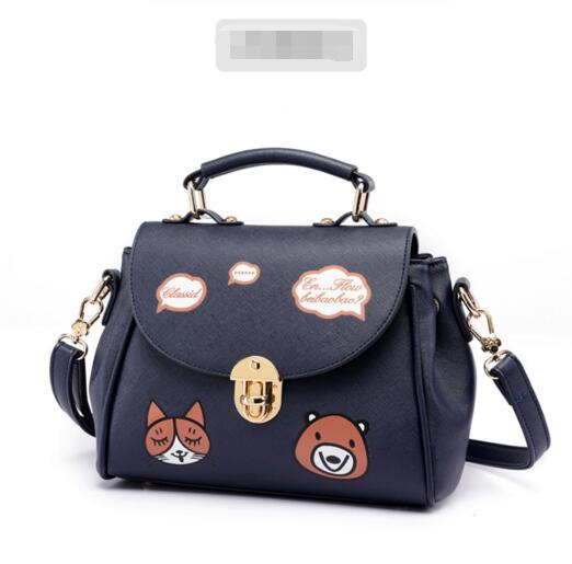 4dd95530953 Casual Lovely Cartoon Animal Print Crossbody Bag on Luulla