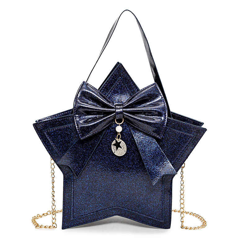 Shining Sequins Star Shape Women Tote Bag