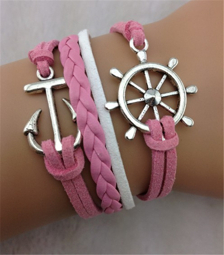 Anchor Rudder Beautiful Hand-made Bracelet