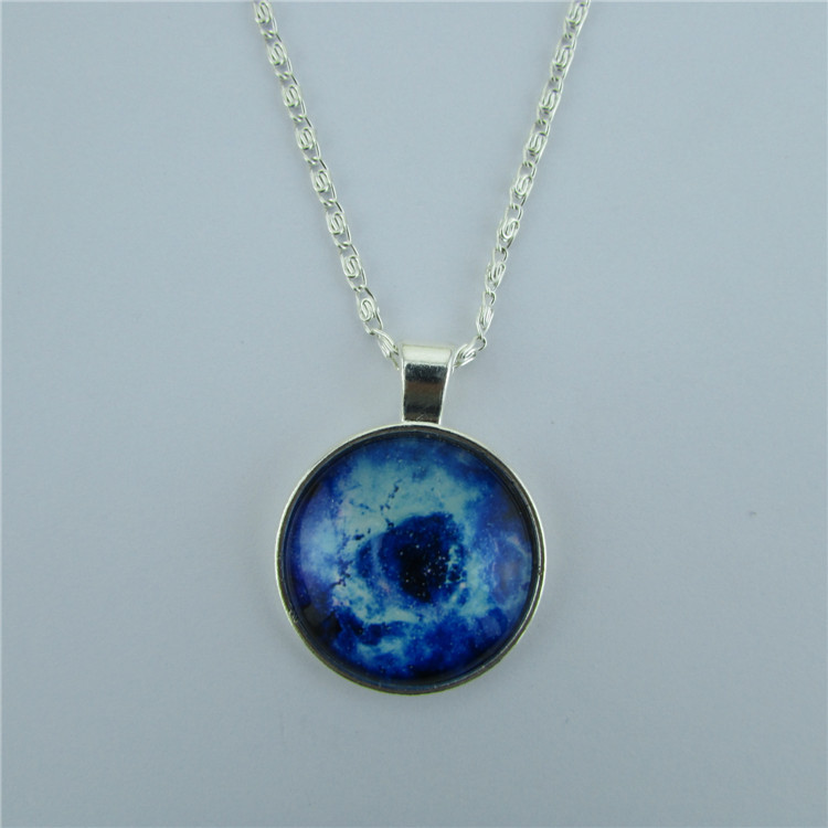 Beautiful Starry Sky Pendant Necklace