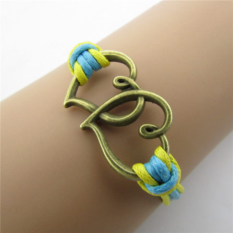 Heart To Heart Colour Fashion Bracelet