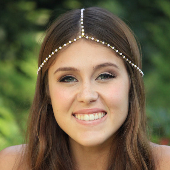 Beautiful Handmade Pearl Beaded Hair Accessories