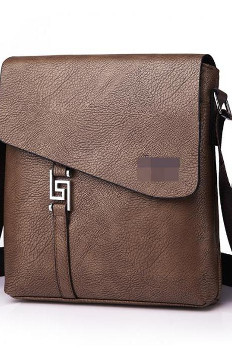 Casual PU Leather Men Briefcase