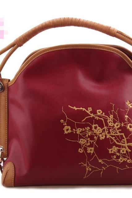 Chinese Style Embroidery Women's Tote Bag
