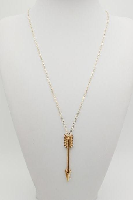 Fashion Restoring Ancient Ways Big Arrow Necklace