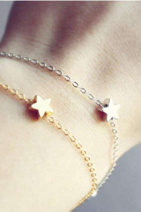 Fashion Simple Star Bracelet