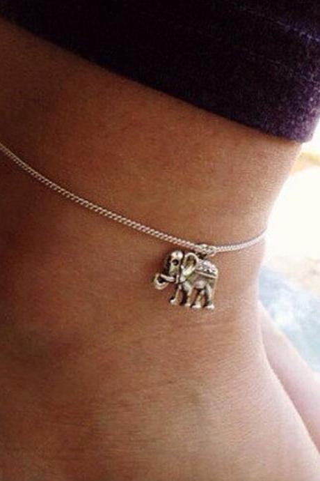 Simple Elephant Starfish Anklets