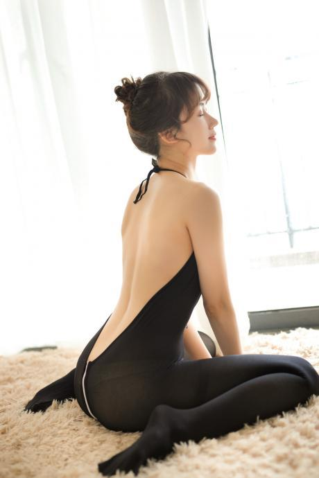 Sexy Club wear Blackless Jumpsuits
