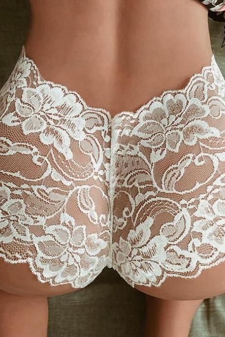 Sexy Lace women's seductive t-pants(Q2020319)