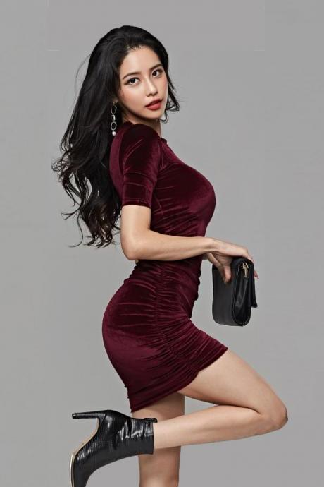 Sexy Party Mini Dresses (Q2020430)