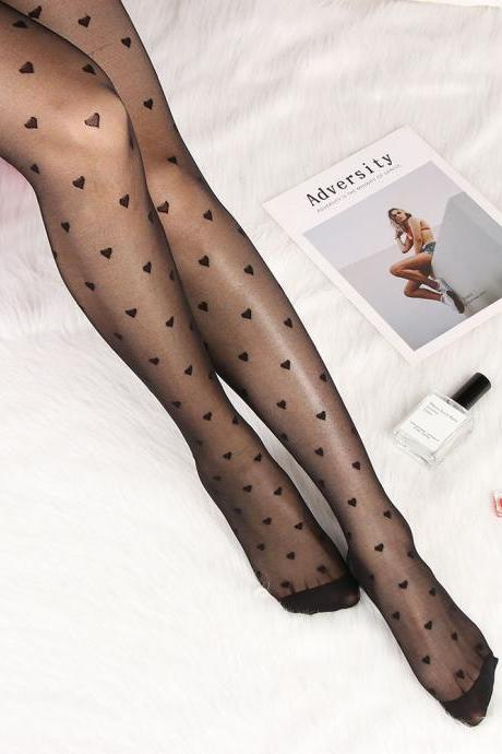 1 Pair Female Sexy Lace Elastic Thigh Women's Stockings Plus Size Pantyhose Bodysuit Tattoo Women Lingerie Apparel Accessories-2