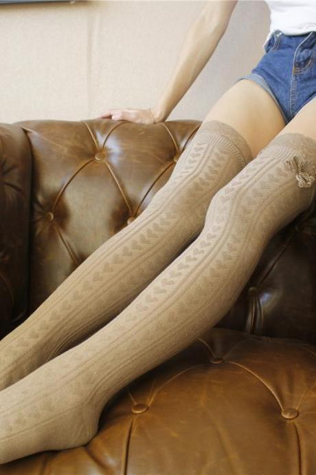 Over-the-knee Heap Socks-4-25-18
