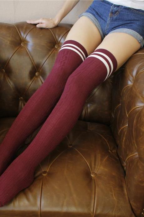 Over-the-knee Heap Socks-4-25-29