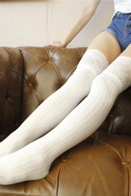 Over-the-knee Heap Socks-4-25-42