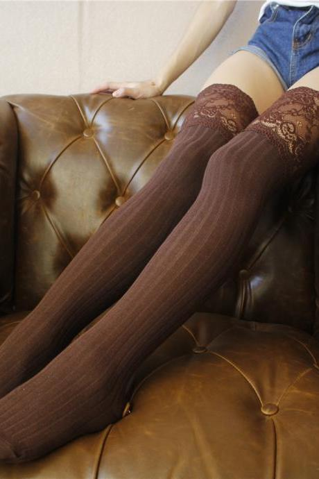Over-the-knee Heap Socks-4-25-43