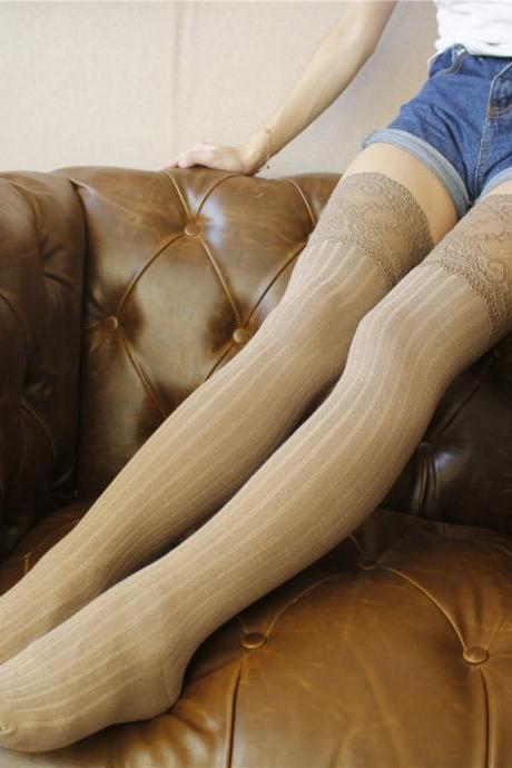 Over-the-knee Heap Socks-4-25-45