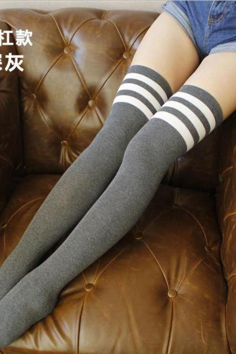 Over-the-knee Heap Socks-4-25-49