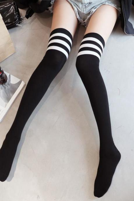 Over-the-knee Heap Socks-4-25-67