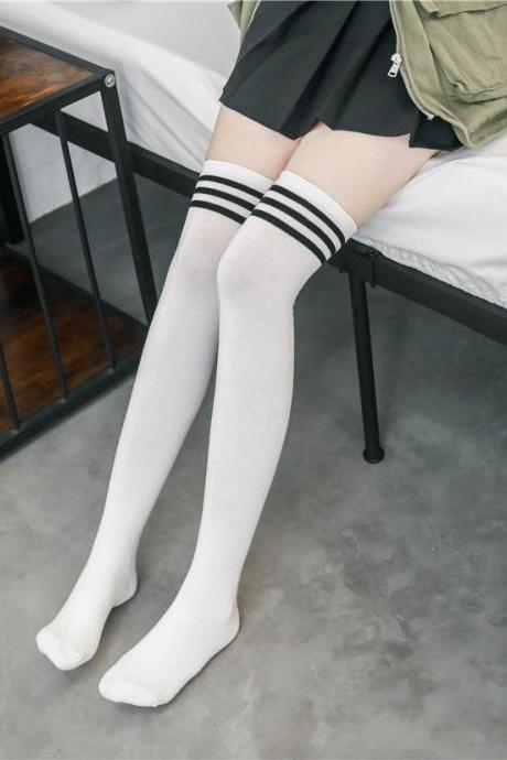 Over-the-knee Heap Socks-4-25-99