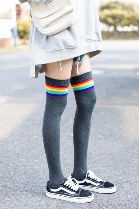 Over-the-knee Heap Socks-4-25-126
