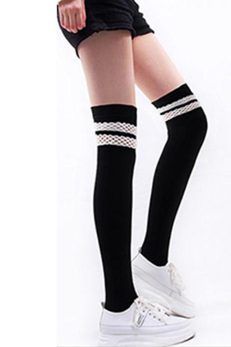 Over-the-knee Heap Socks-4-25-136