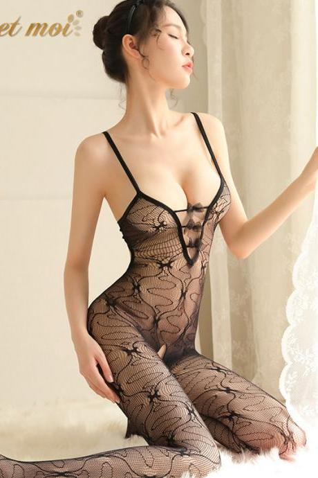 Sexy Underwear Lace Jumpsuit For Girl