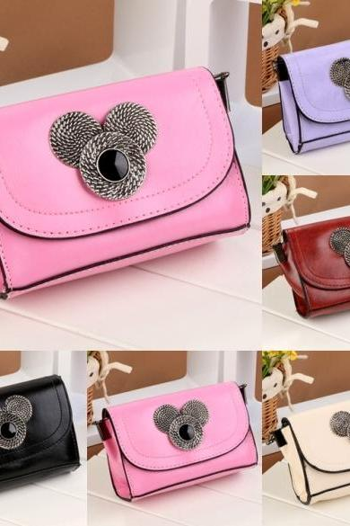 New Women Fashion Synthetic Leather Chain Shoulder Bag Handbags Casual Cross Bags