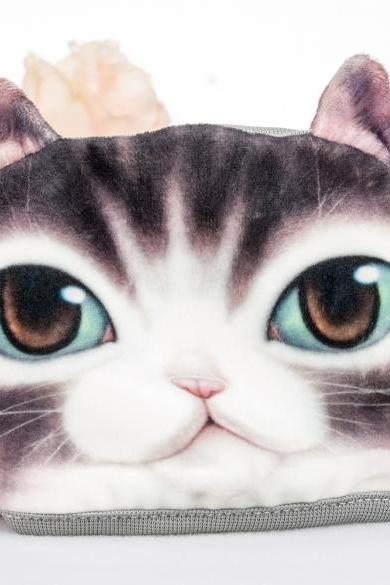 Unique Style New Fashion Casual Sport Outdoor 3D Pet Cat Cartoon Pattern Anti-Dust Cute Face Mask