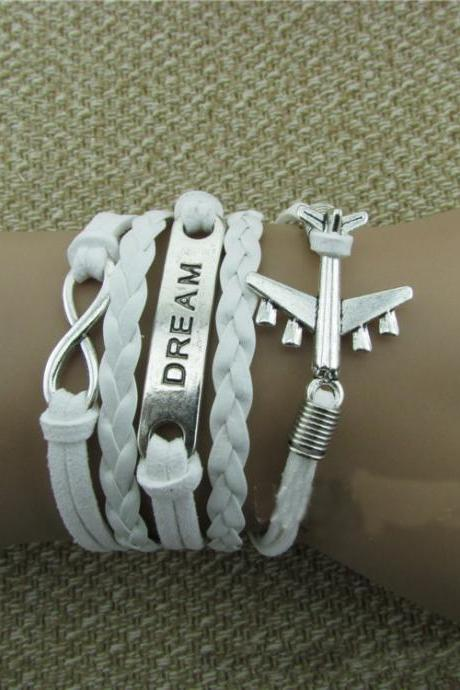 Plane DREAM Eight Bracelet